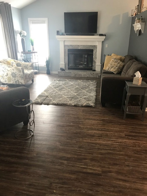 Area rug size and furniture placement