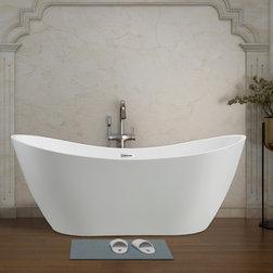 Contemporary Bathtubs by Vanity Art LLC