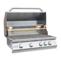 KoKoMo Grills - KoKoMo Grills - Professional 4 Burner Built In Grill, Natural Gas - Outdoor Grills