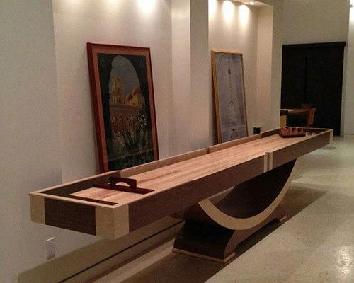 Modern Shuffleboard Table