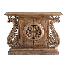 CYAN DESIGN DWYER Console Table Limed Gracewood Wood