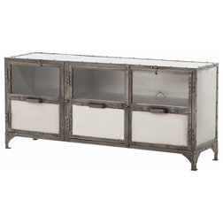 Industrial Console Tables by The Khazana Home Austin Furniture Store