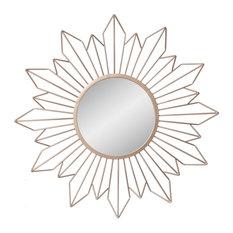 50 Most Popular Round Sunburst Mirror Mirrors For 2019 Houzz