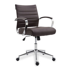 Poly and Bark Tremaine Office Chair, Brown