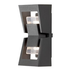 Potenza Up Down Outdoor Wall Light, Anthracite