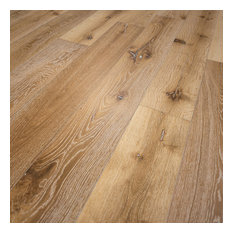 French Oak Prefinished Engineered Wood Floor, Idaho, 1 Box