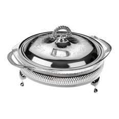 Abba Silver-Plated Casserole Dish With Lid
