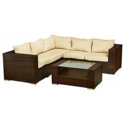 Amazing Tropical Outdoor Lounge Sets by Build