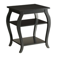 Becci End Table, Black