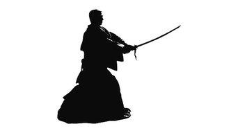 Japanese Swordsman Wall Decal