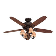 New orleans ceiling fans houzz hunter fan company hunter fans 53094 cortland 54 ceiling fan in new bronze aloadofball Image collections