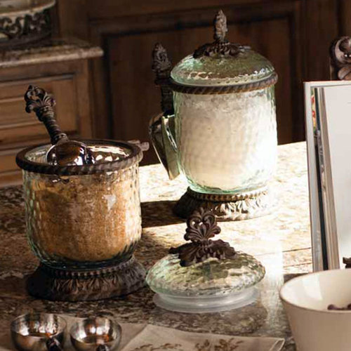 tuscan style kitchen canister sets the gg collection brought to you by iron accents 26070