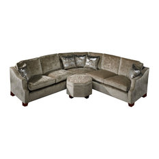 David Gundry Upholstery Hampton Corner Sofa With Firm Cold Cure Foam Filling Sectional Sofas