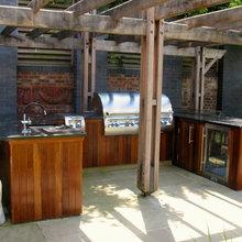 outdoor kitchen Wimbledon