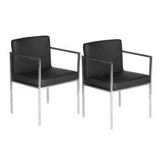 Glen Dining Chairs Set Of 2 Black