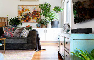 My Houzz: An Interior Designer's Joyful Easy-to-Live-In Home