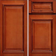 Kitchen Wall Cabinets, Glazed Maple, 15x12x30 One Door