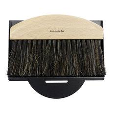 Mr & Mrs Clynk Mini Dustpan & Brush Gift Set, Black
