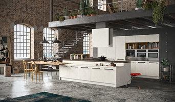 Cucina bianca pavimento beige arredare in bianco e beige foto