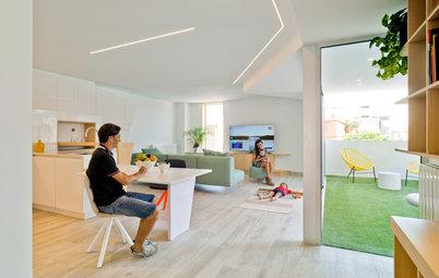 La moderna reforma de una casa de tres plantas en Alicante
