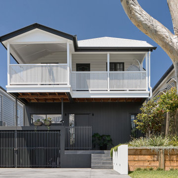The Wrapped Bungalow - Street Elevation