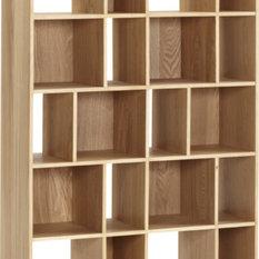 moderne b cherregale. Black Bedroom Furniture Sets. Home Design Ideas
