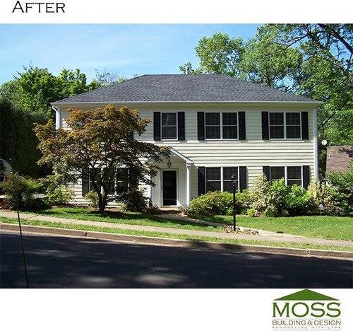 Before And After Remodel In Arlington VA Magnificent Remodeling Arlington Va Exterior Design