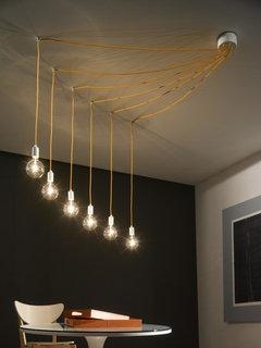 Lampada per scala for Lampadari con filo lungo