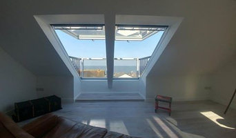 completed loft conversion, Ogmore-by-Sea.