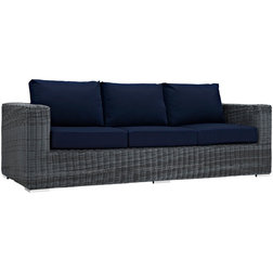 Tropical Outdoor Sofas by Decor & Fixtures