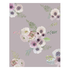 Victorian Flowers, Fawn/Floral, Self-Adhesive