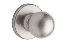 Kwikset® 92001-518 Security Polo Passage Knob Lockset, Satin Nickel