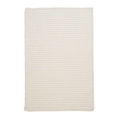 Colonial Mills, Inc - 7'x9' (Large 7x9) Rug, White (Beige) Indoor/Outdoor Carpet - Outdoor Rugs