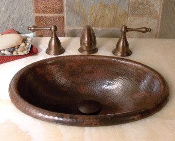 hammered copper bathroom sink hammered copper bathroom sinks by trails 18644