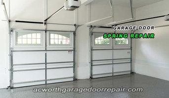 ACWORTH GARAGE DOOR SPRING REPAIR