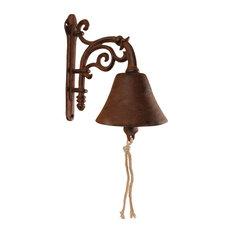 Flower Design Cast Iron Doorbell