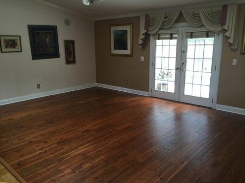 Hardwood Flooring Installation Before After