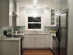 Small U-shaped kitchen