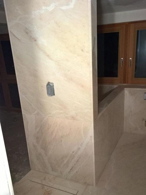 badezimmer aus rosa estremoz marmor, Badezimmer