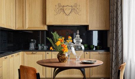 Houzz тур: Квартира на Таганке с элементами ар деко