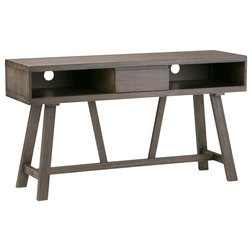 Transitional Entertainment Centers And Tv Stands by Simpli Home (UK) Ltd