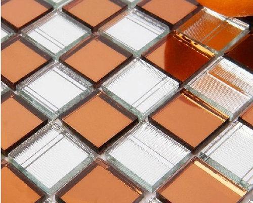 Mirror glass mosaic tile glass mosaic Mirror tiles diamond glass mosaic tile