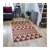 Moda Flatweave Prism Red Rectangle Plain/Nearly Plain Rug 160x225cm