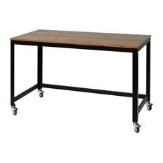 50 most popular desks with wheels for 2019 houzz rh houzz com desk with wheels australia desk with wheels nz