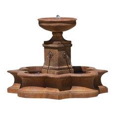 Campania Beauvais Garden Water Fountain, Ferro Rustico