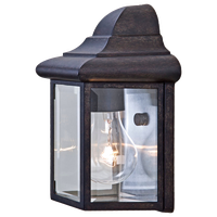 Acclaim Lighting 6001 Pocket Lanterns 1 Light Outdoor Wall Sconce - Black
