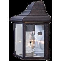 Acclaim Lighting 6001 Pocket Lanterns 1 Light Outdoor Wall Sconce - Black Coral