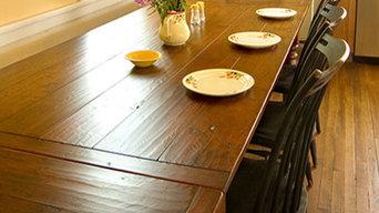 """7' x 40"""" Cherry Harvest Table"""