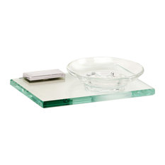 Alno A7530-PC Arch Soap Holder w/Dish in Polished Chrome