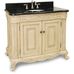 Cute Traditional Bathroom Vanities And Sink Consoles by New York Hardware Online